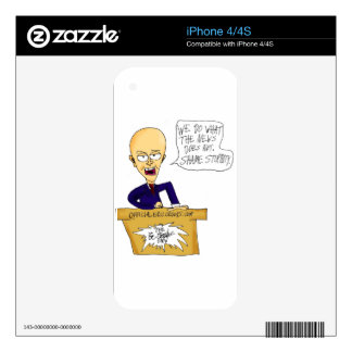 News that Shames Stupidity Decals For iPhone 4