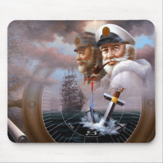 NEWS TWO Map Captain 3 or TWO Sea Captain Mouse Pad