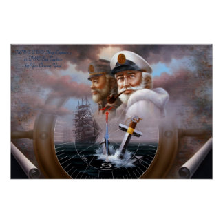 NEWS TWO Map Captain 3 or TWO Sea Captain Poster