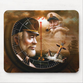 NEWS & TWO Map Captain 4 or TWO Sea Captain Mousep Mouse Pad