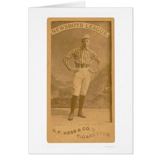 Newsboy League Baseball 1888 Card