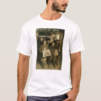 NEWSBOYS in New York Turn of Century T-Shirt
