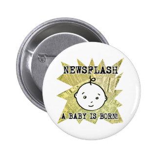 Newsflash A Baby is Born Pin