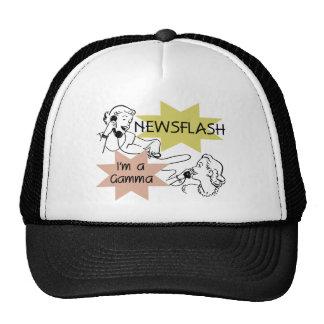 Newsflash I'm a Gamma Tshirts and Gifts Trucker Hat