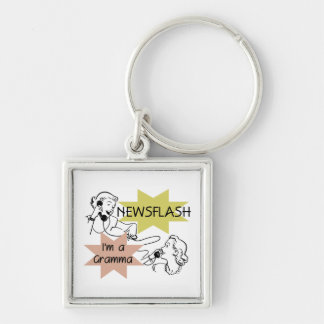 Newsflash I'm a Gramma T-shirts and Gifts Keychains