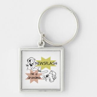 Newsflash I'm a Grandma T-shirts and Gifts Key Chain