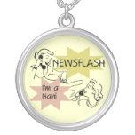 Newsflash I'm a Nani t-shirts and Gifts Jewelry