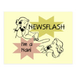 Newsflash I'm a Nani t-shirts and Gifts Post Cards