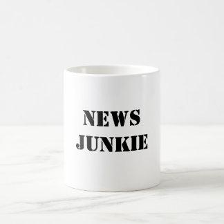 NEWSJUNKIE CLASSIC WHITE COFFEE MUG