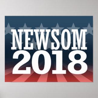 NEWSOM 2018 POSTER