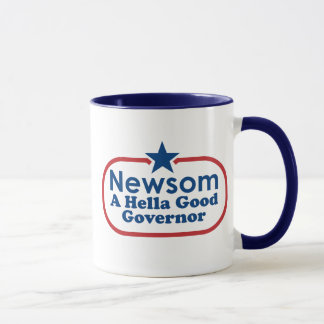 Newsom, a hella good governor mug