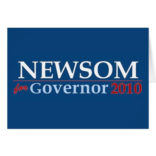 Newsom for Governor Greeting Card