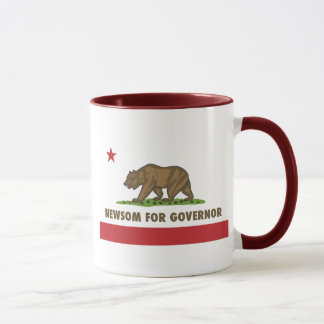 Newsom for Governor Mug