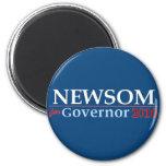 Newsom for Governor Refrigerator Magnet