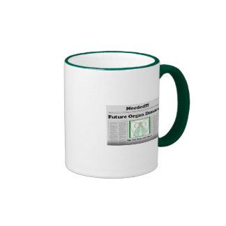 newspaper2 taza de dos colores