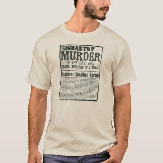 Newspaper appeal: Jack the Ripper murders T-Shirt