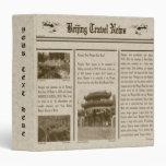 Newspaper Avery Binder