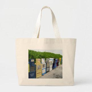 newspaper tote bags