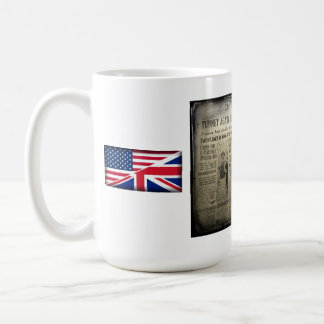 Newspaper Boxing Coffee Mug