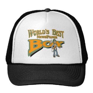 Newspaper Boy Trucker Hat