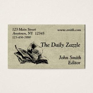 Newspaper Business Card