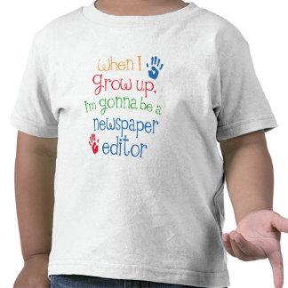 Newspaper Editor (Future) Child T Shirt