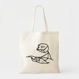 Newspaper Guy Tote Bag