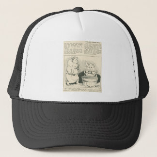 newspaper pigs trucker hat