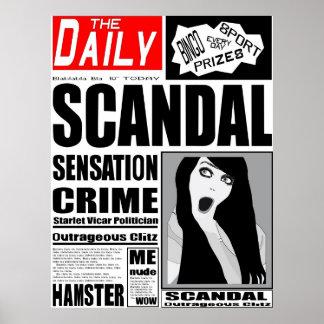 Newspaper Poster