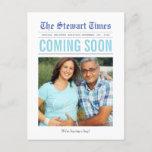 Newspaper | Pregnancy Announcement