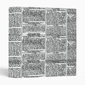 Newspaper Print Binder