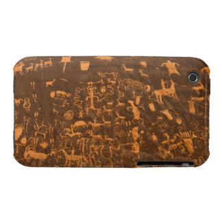 Newspaper Rock is a petroglyph panel etched in iPhone 3 Case-Mate Cases