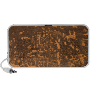 Newspaper Rock is a petroglyph panel etched in iPhone Speaker