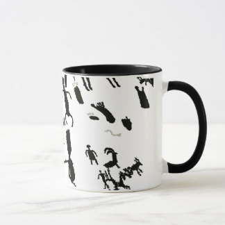 Newspaper Rock Mug