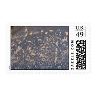 Newspaper Rock Stamps