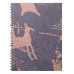 Newspaper Rock, S.P., UT Near Monticello. Spiral Note Book