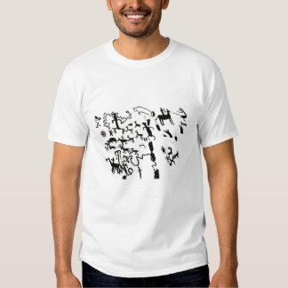 Newspaper Rock T Shirt