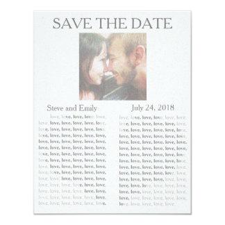"Newspaper ""Save the Date"" Card"