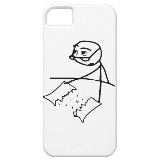 Newspaper Tear Guy iPhone SE/5/5s Case