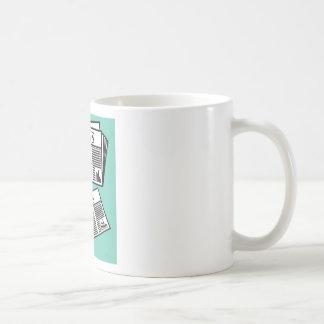 Newspaper Vector Coffee Mug