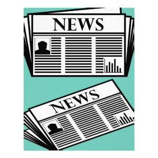 Newspaper Vector Letterhead
