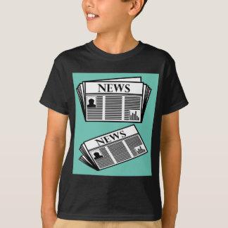 Newspaper Vector T-Shirt