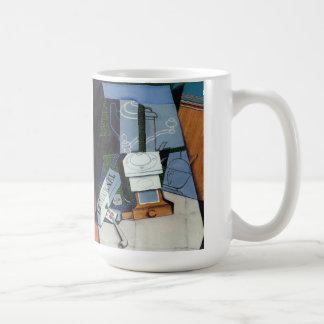 newspaper with coffee mill by Juan Gris Coffee Mug