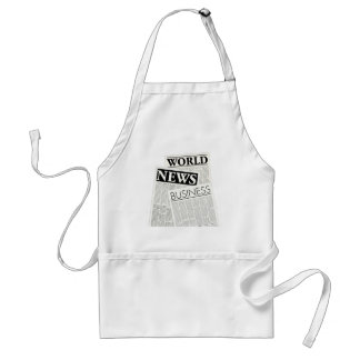 Newspapers Adult Apron