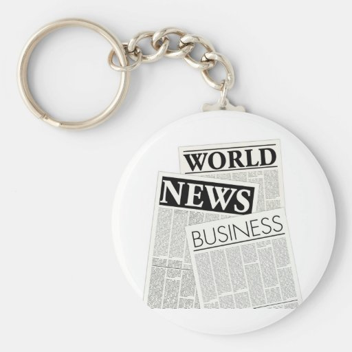 Newspapers Key Chains