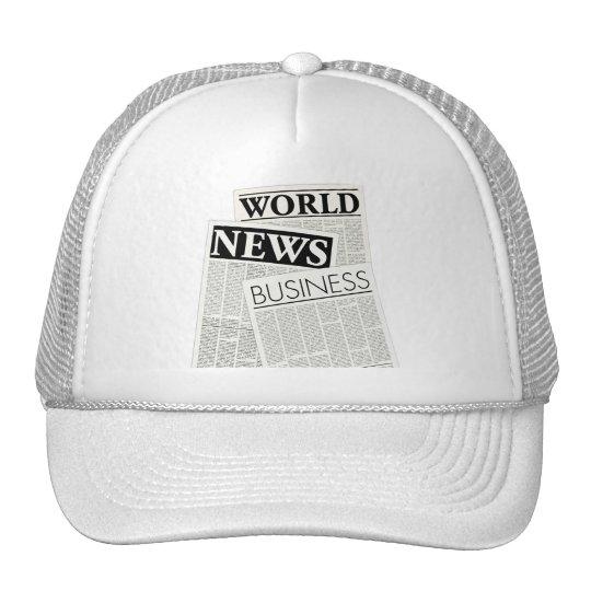 Newspapers Trucker Hat