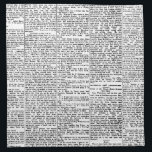 "Newsprint Napkin<br><div class=""desc"">newsprint black and white vintage art</div>"