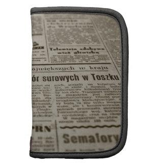Newsprint Organizers