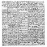 Newsprint Printed Napkin