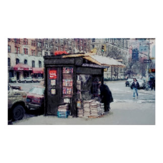 NEWSSTAND at BROADWAY and 75th Street - NEW YORK Poster